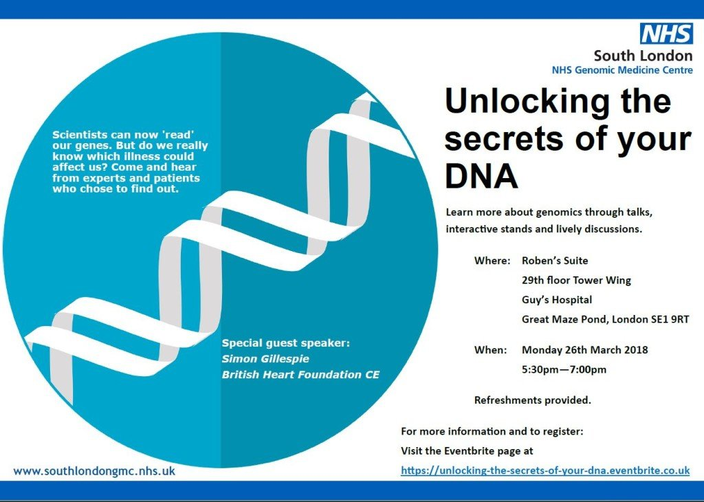 Unlocking the secrets of your DNA