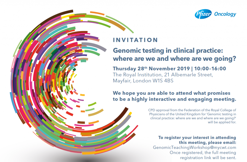 Genomic testing in clinical practice