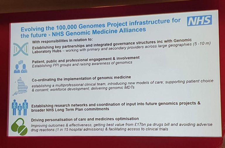 NHS Genomic Medicine Alliances- NEWS