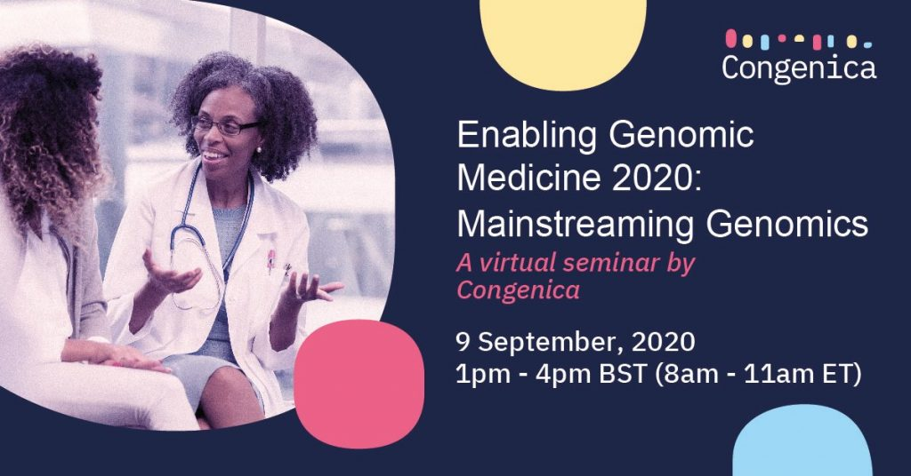 Congenica EGM2020- Genomic Medicine
